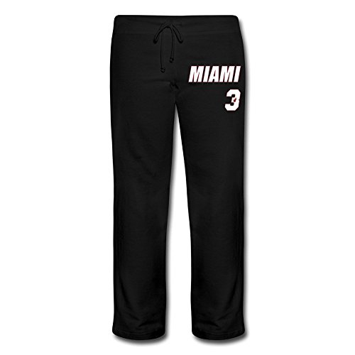 CHMLilySunrise Dwyane Wade Miami Heat Black Net Number ...